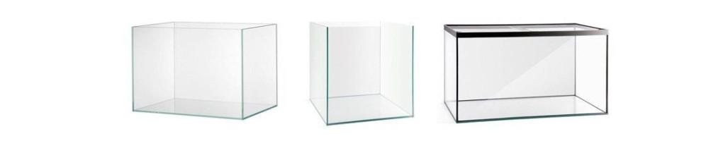 Acuarios y urnas aquascaping rectangulares cubicas y ópticas