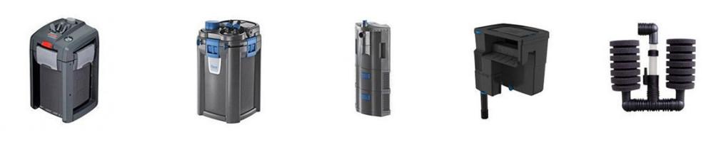 Sistemas de filtración para acuarios